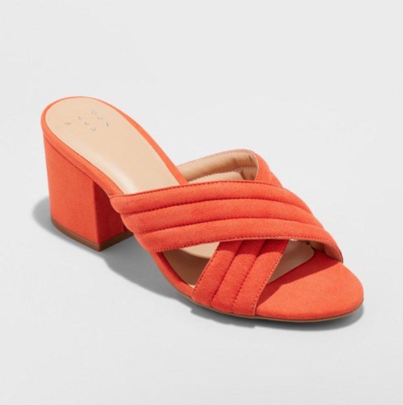 Women's Miriam Crossband Quilted Mules | A New Day™