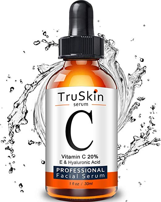 My morning vitamin C serum,  TruSkin .