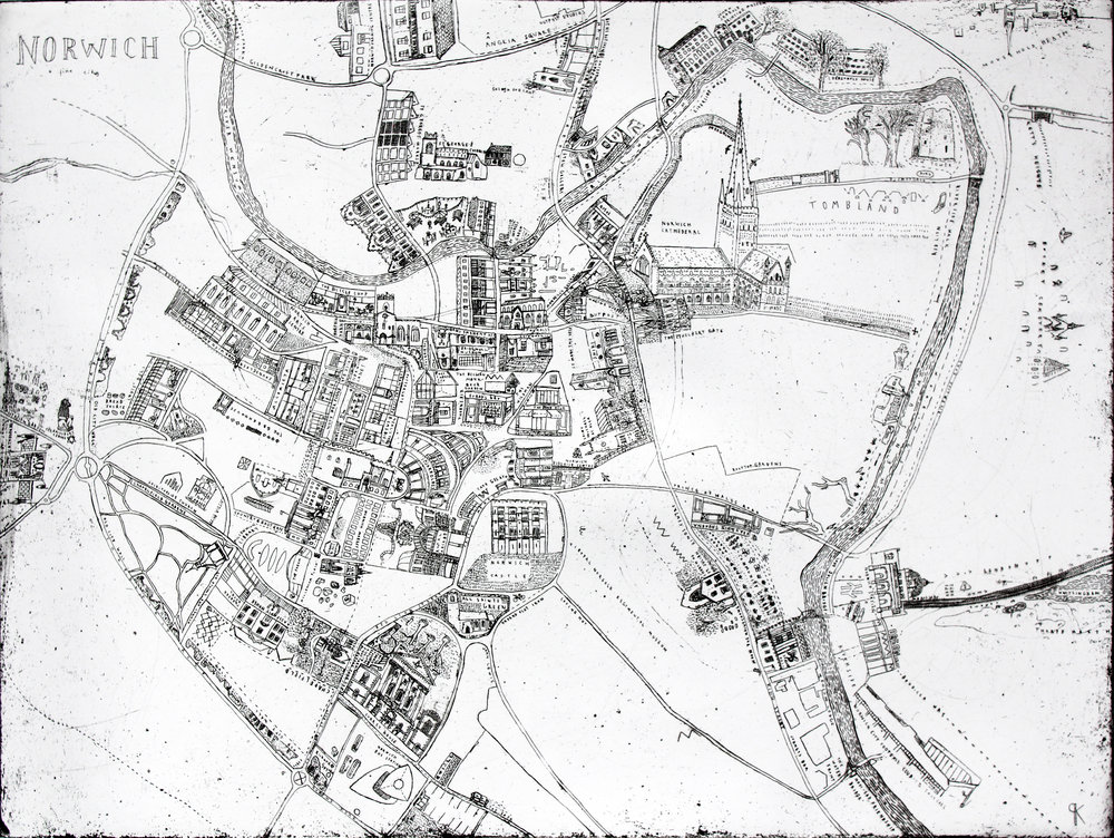 1. Keziah Philipps, Norwich Map, copper etching, 60cm x 40cm.jpg