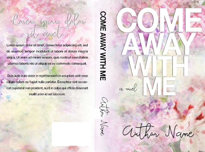 Premade Full Wrap Cover #2 - $50 (certain customizations, like font changes, may incur a small fee).
