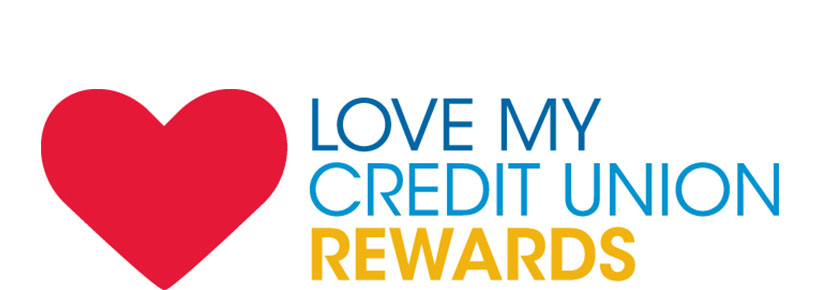 Love my credit union rewards logo