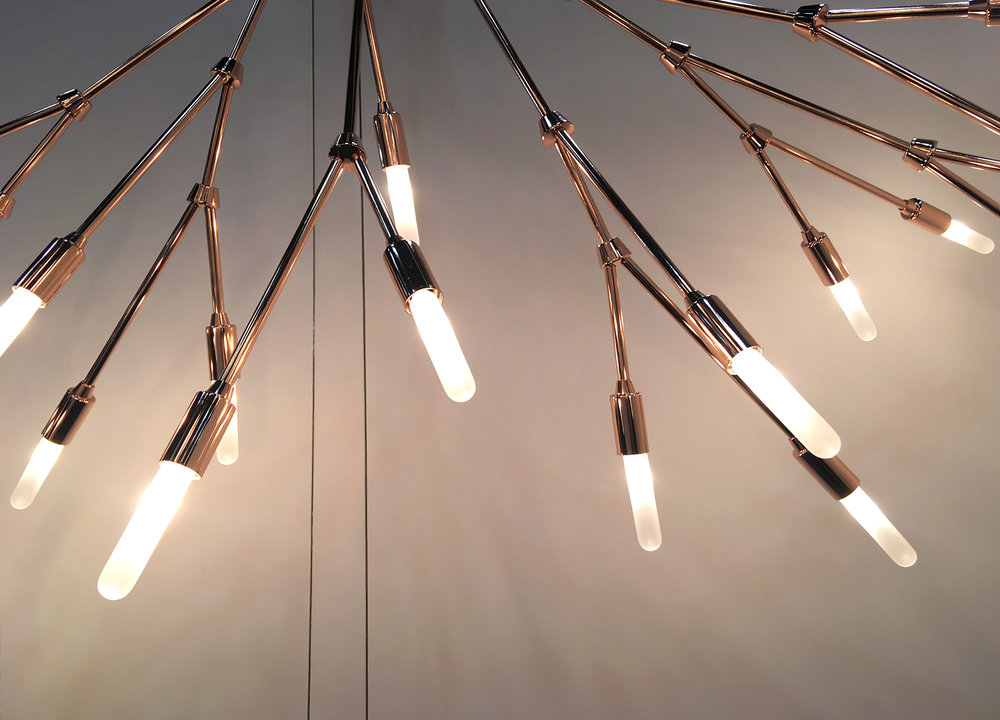 "Lightmaker Studio ""Branch"" - original handcrafted lighting."