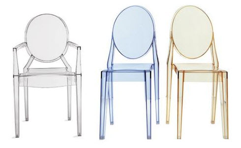 Ghost Chair by Philippe Starck -