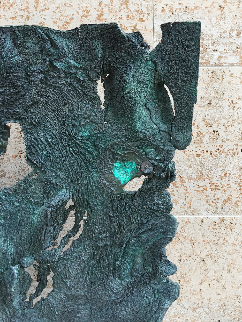 Sculpture by Harry Bertoia, Cranbrook Art Museum