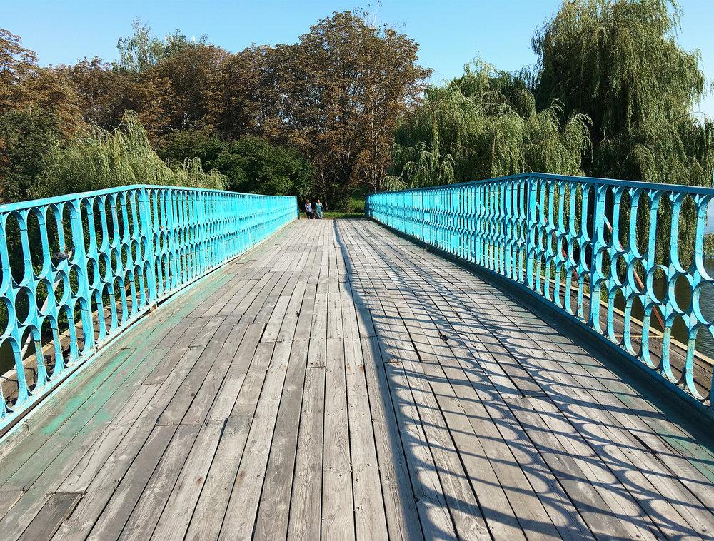 Bridge, Rivne, Ukraine