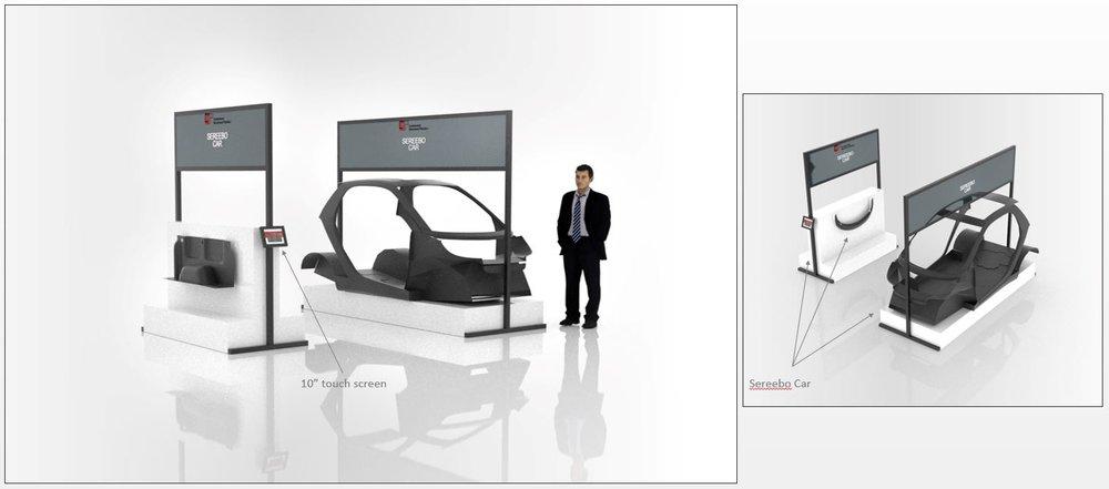 Sereebo Car Display