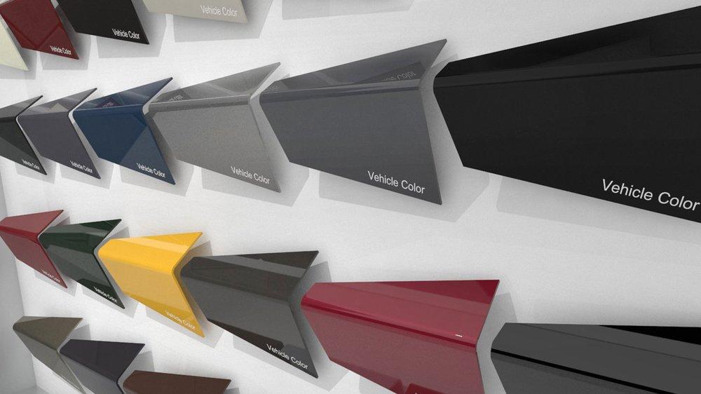 GMC Color Display - North American International Auto Show 2017