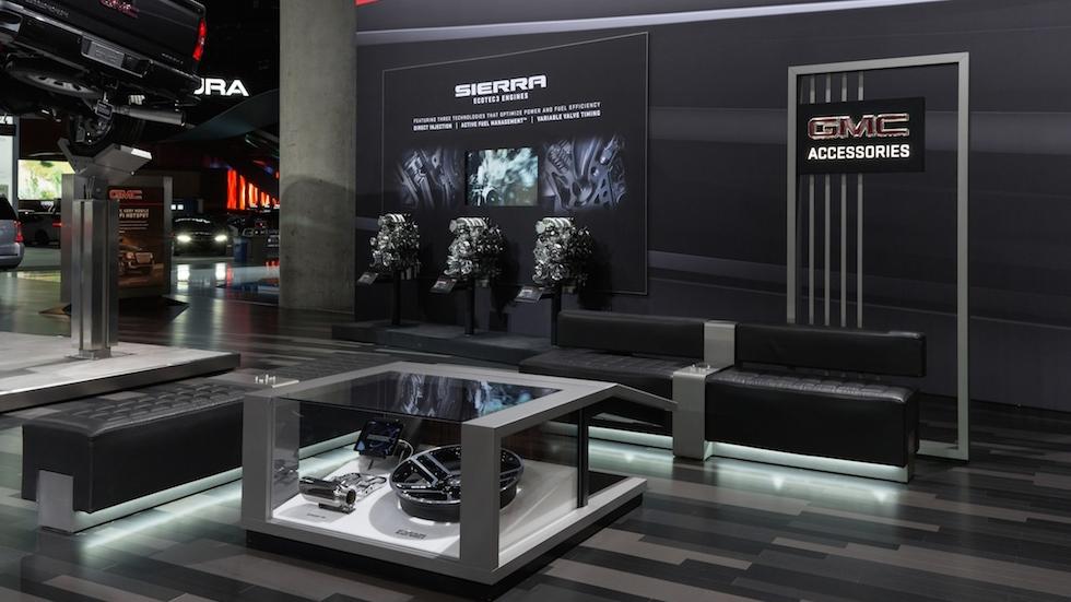 GMC Accessories Display - Regional auto shows
