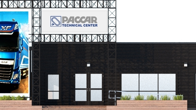 PACCAR Technical Center - Technical Center Building Signage