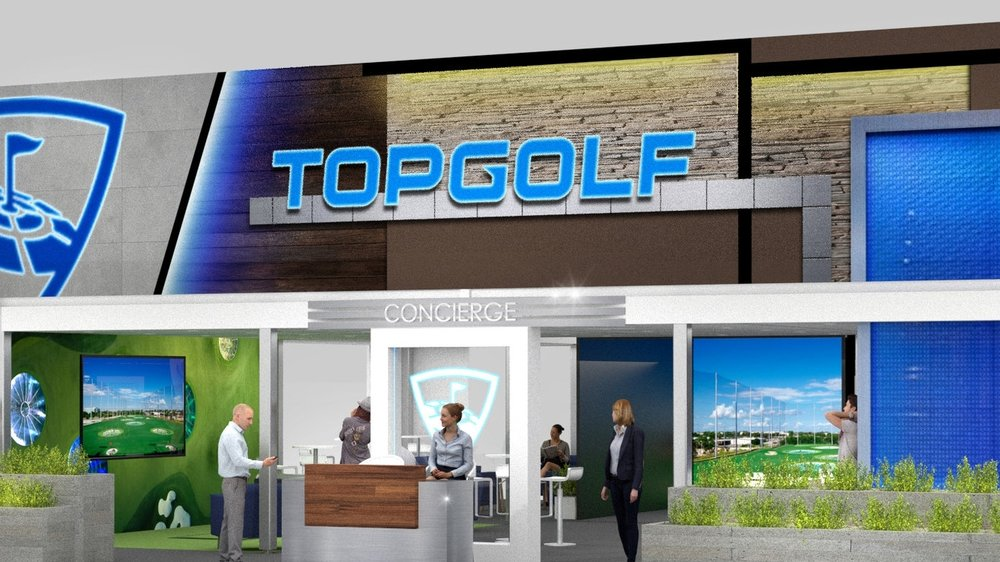 TopGolf Concept Design - PGA Expo 2019 in Orlando, FL