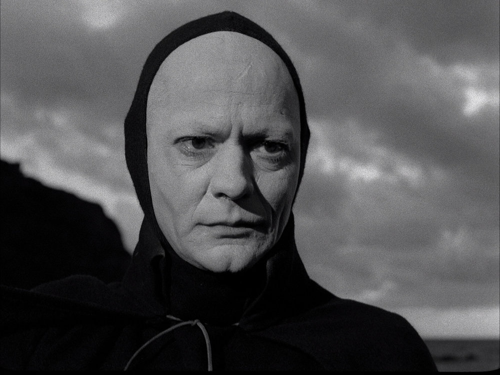 The Seventh Seal - 1957 How'd he get that scar on his forehead?