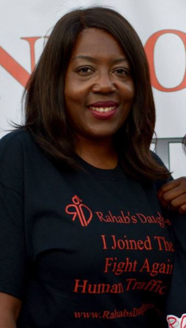 "Ms Thomasina: Board Member & Treasurer of ""Rahab's Daughter"""