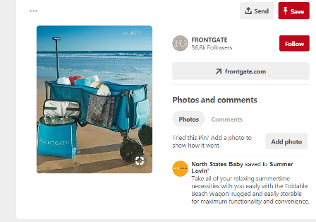 Beach Gear Cart