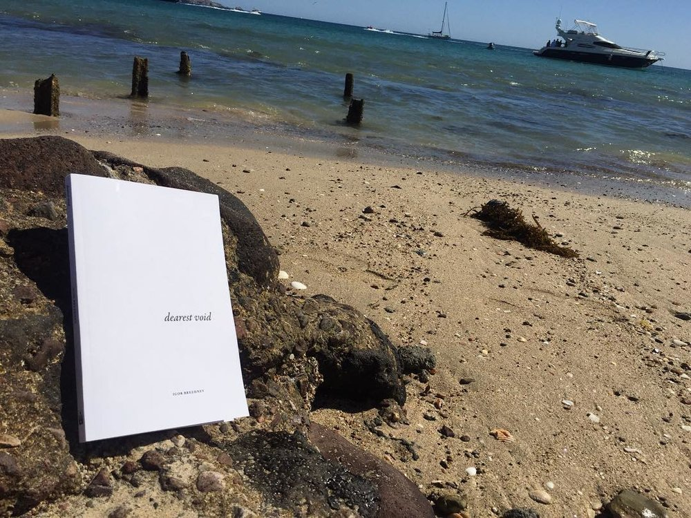 dearest void at the beach, photo courtesy of the reader.