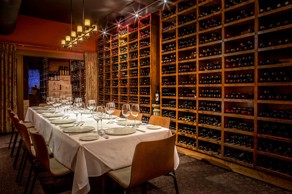 - The Red RoomThe Red Room is not only a beautiful private dining space, but also serves to house some of the best wines featured on our list.Available for groups of 10-20.