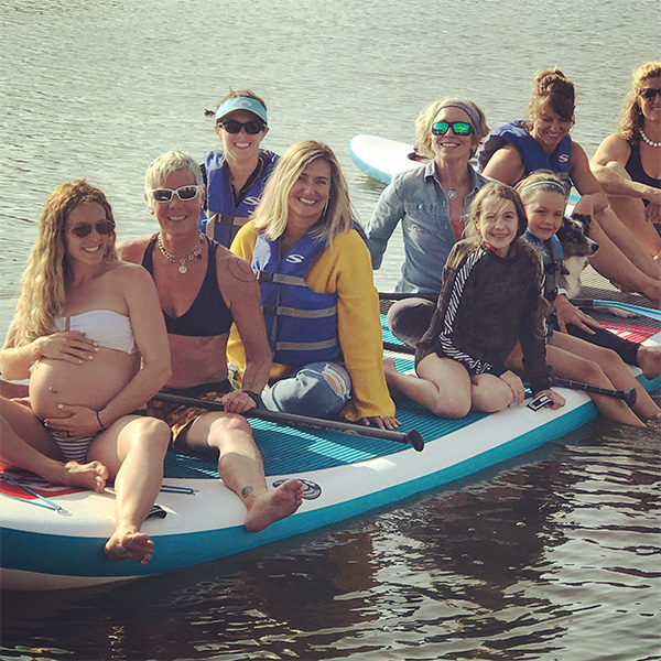 In 2017, Ultra Missions hosted a magical Mother Blessing on our party-sized XL Paddleboard!  Mother Blessings are the new Baby Showers, replacing old fashioned luncheons with a meaningful commemoration of the passage into Motherhood. A wonderful way to prepare mom spiritually and emotionally for childbirth!