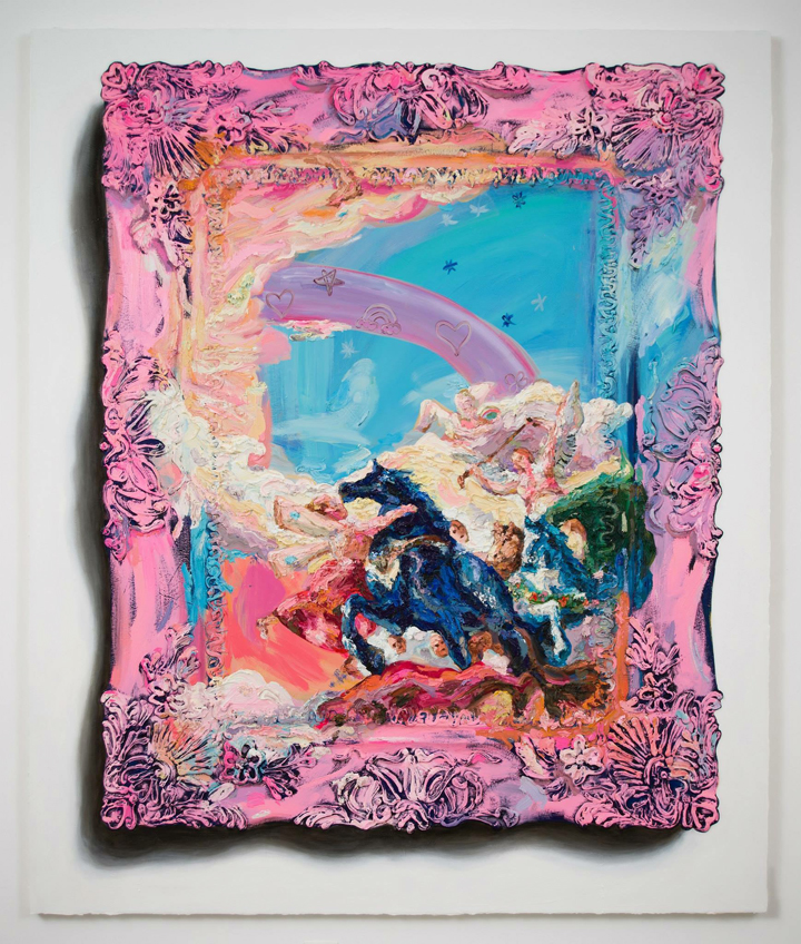 This Present Pink Darkness (after Tiepolo)