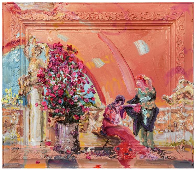 The Women Talk (after Alma-Tadema)