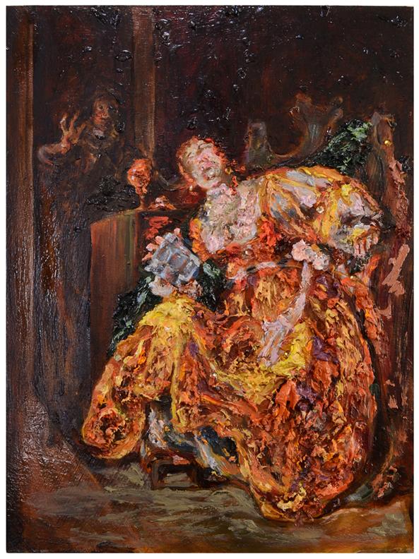 Poisoned Lady (after Knupfer)