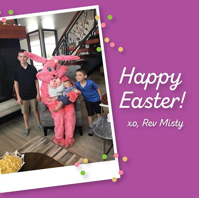 Happy Easter from the Pink Bunny (aka me, Rev Misty!) I hope everyone enjoys their holiday. If you get the chance, I would love if you could let me know your thoughts on my latest blog: Easter Bunny, Religion and Ultimate Sacrifice on RevMisty.com 🐰
