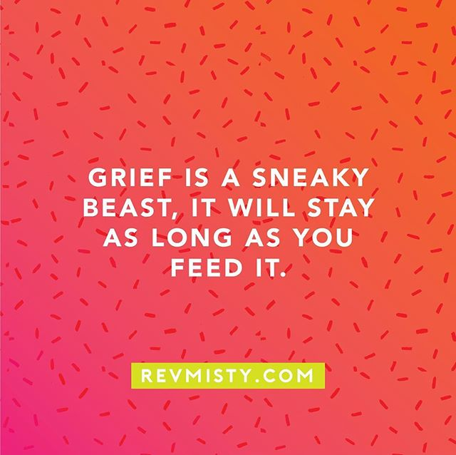 Part of recovering from grief is not just letting time go by; it is what you do with the time.