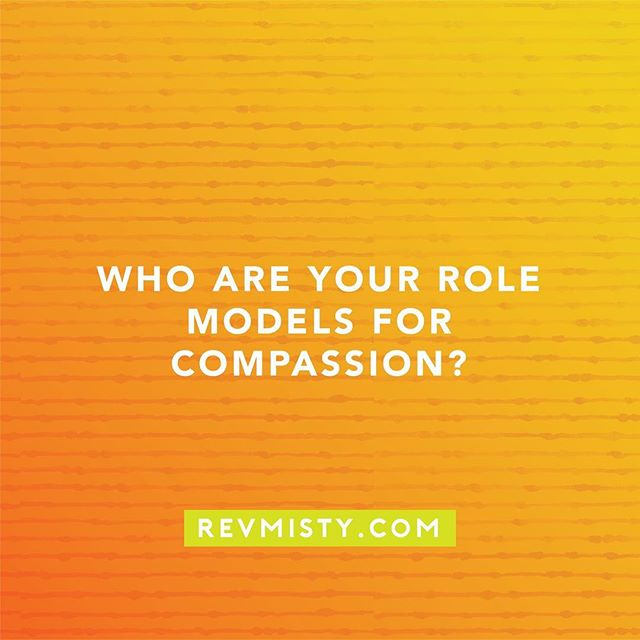 Who do you look to for a guide of compassion?