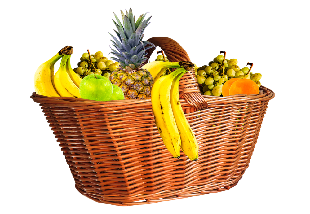 Not actual fruit basket.