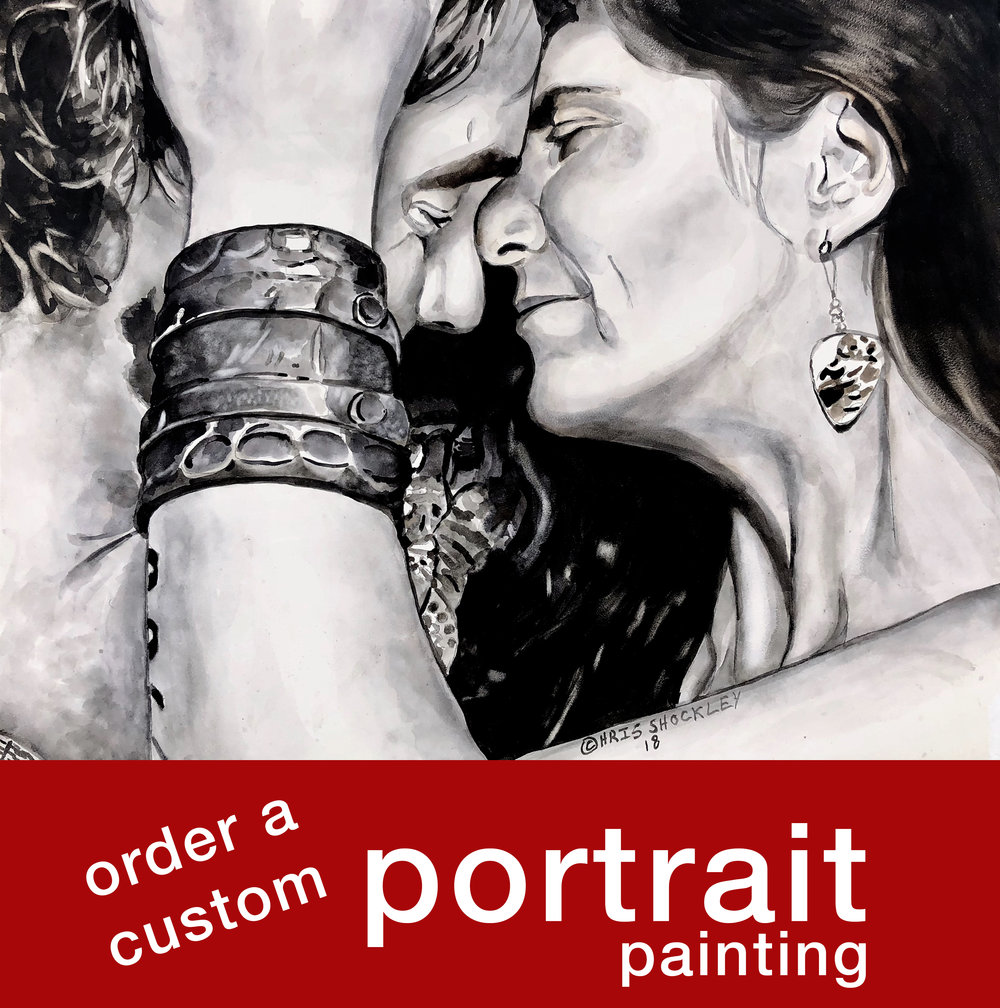 Commission a custom portrait