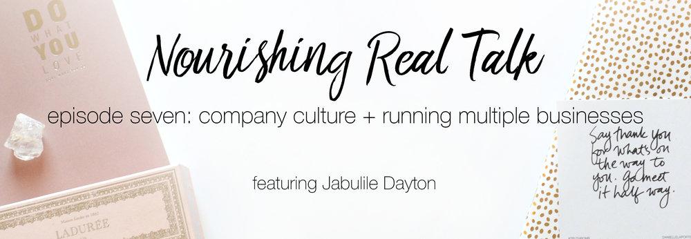 Episode 7 | Nourishing Real Talk