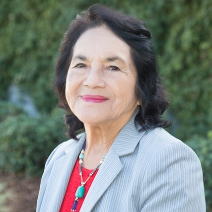 DOLORES HUERTA - (Was sadly not able to attend)LABOR LEADERACTIVISTCOMMUNITY ORGANIZER