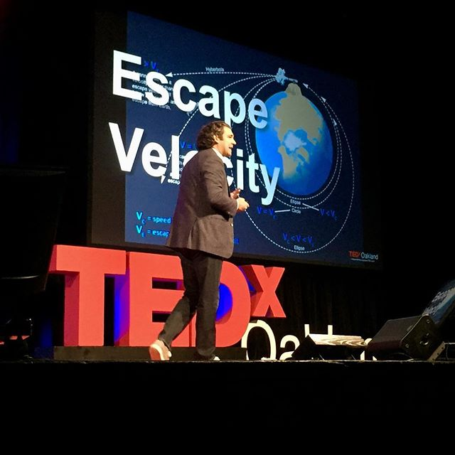 """Today is day one"". #TEDxOakland speaker @wolfepereira explains life is about impact and purpose. How do you live an impactful life? #ShapingTomorrow #oakland"
