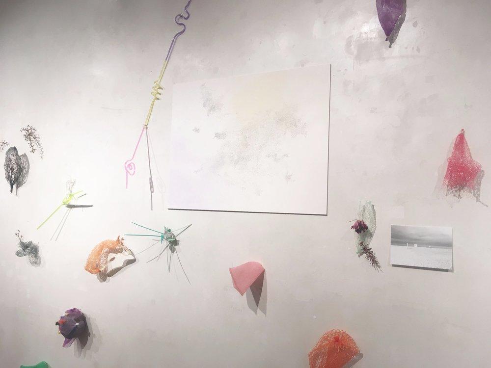daily imagination (installation)/ 2018 / mixed media