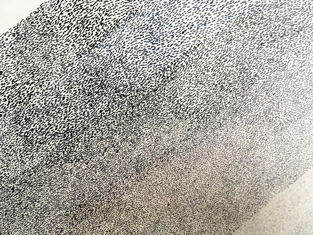 Untitled / 2018 /24x28cm/ Ink