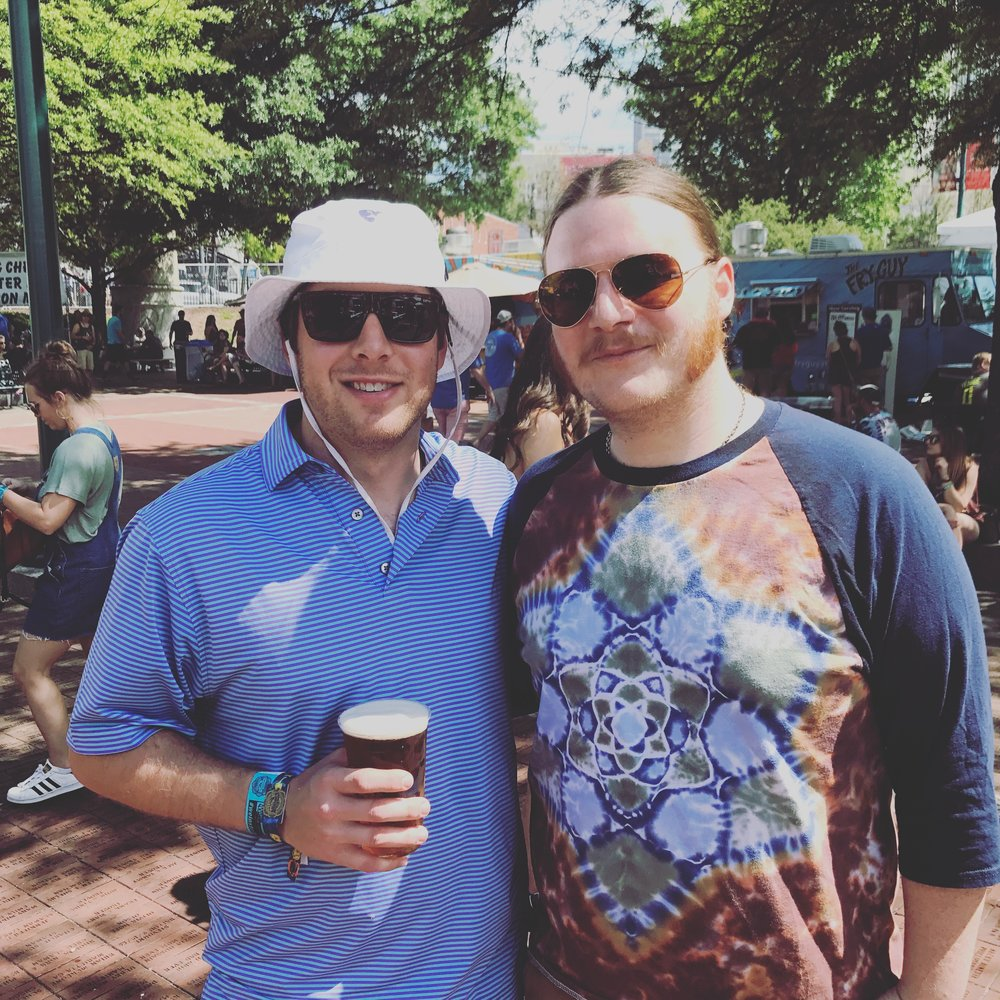 Pictured with Duane Trucks of Widespread Panic at the Sweetwater 420 Festival in Atlanta, GA (April 2017)