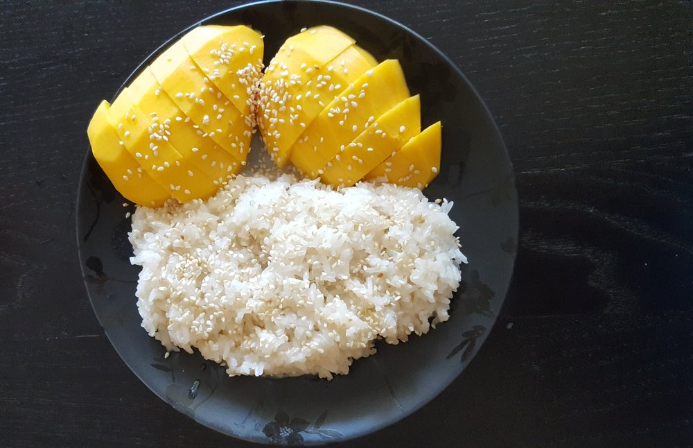 Mango and Sweet Sticky Rice