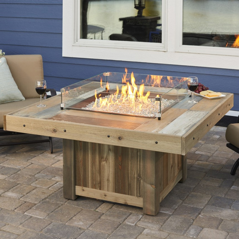 Square Fire Tables - explore