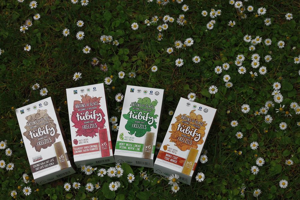 Tubify Organic Freezie Boxes