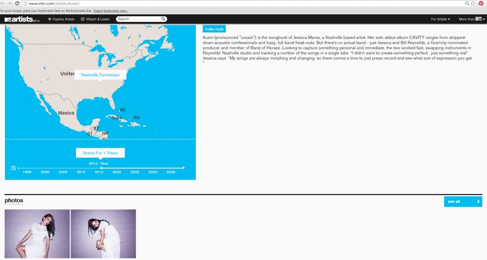 Kuzin MTV website.png