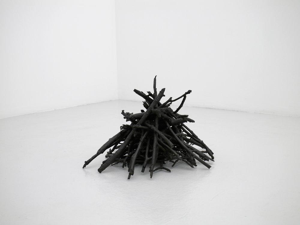 X, 2010, bronze, 60x60x40cm, Nordin Gallery Collection Sweden