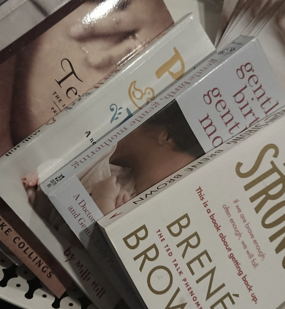 ten moons jane harwicke collings brene brown rising strong gentle birth gentle mothering the positive birth book