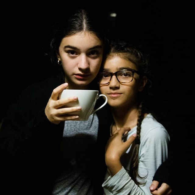 Late night tea parties.  I know we should all be in bed.  But when they actually like each other we need to roll with it.  These are the moments they remember 🤞. When they go to bed singing and silly.  Their cups a little bit fuller.  #daughters #siblings #sisters #sisterlove #teaparty #uptoolate #siblingswithoutrivalry #buildingstrongerfamilies #familytime #familyphotography #familyiseverything #familymatters