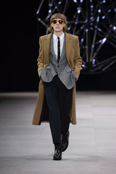 Celine Winter 19 by Hedi Slimane. My favorite look of the show!