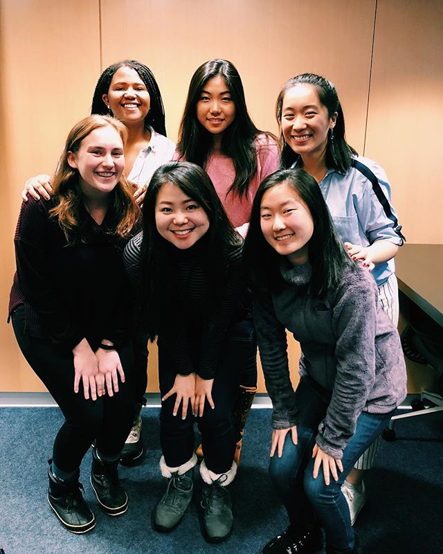 Welcoming our new exec team! President - Alexis Waite '20 Business Manager - Justine Kim '21 Publicity Manager - Euna Park '21