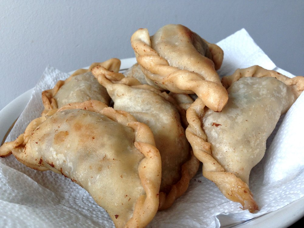 Fried empanadas. Photo by Allison Yates