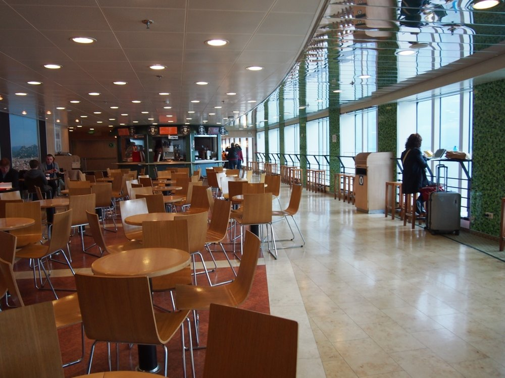 Inside the Tallink Star Ferry to Helsinki