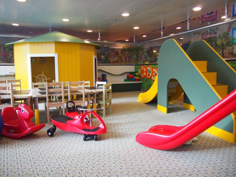 Playground on the Tallink Shuttle from Tallinn to Helsinki