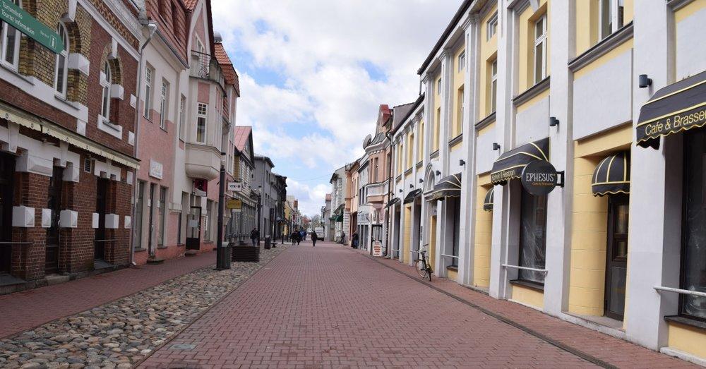 Parnu old town