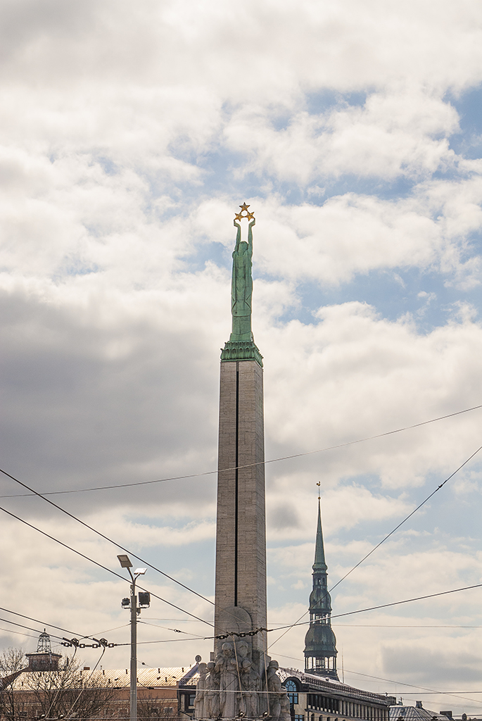 The Latvian Freedom Monument, Photo by J