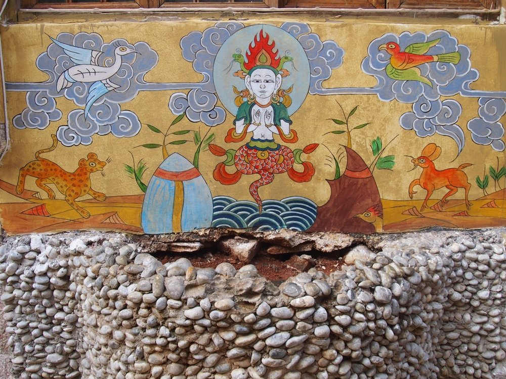 Naxi ethnic minority artwork