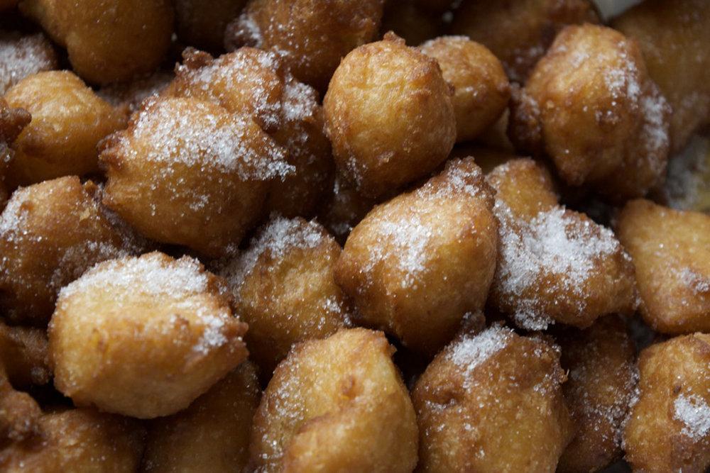 The best frittelle from Sagra delle Frittelle in Bagno a Ripoli
